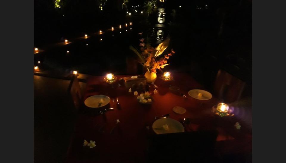 Pandawa Village Bali - Outdoor Dining