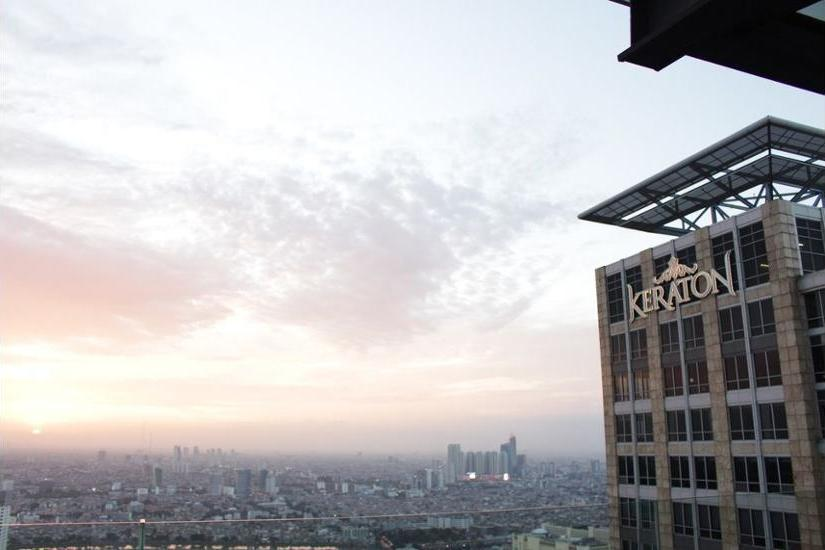 Keraton at The Plaza Jakarta - Aerial View