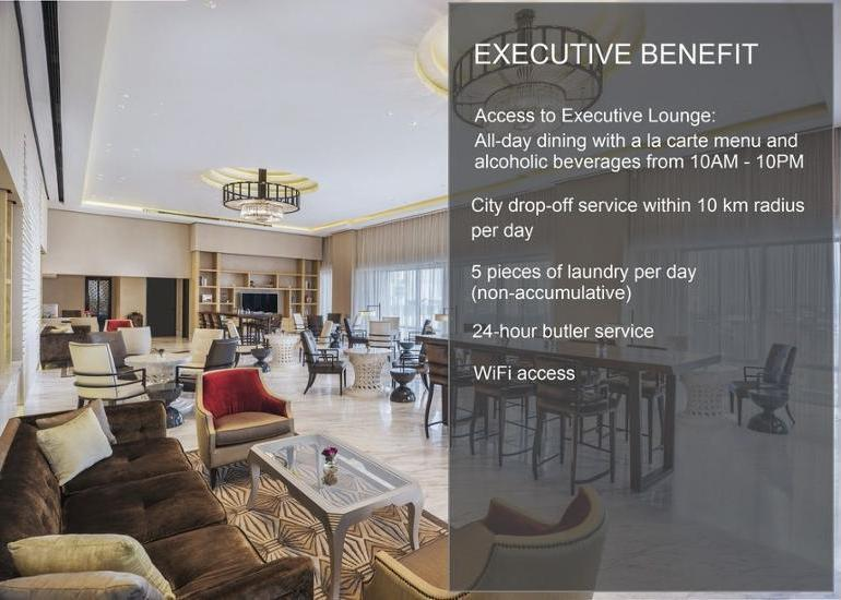Keraton at The Plaza Jakarta - Kamar Eksekutif (Club) Regular Plan