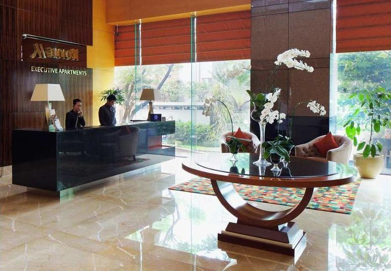 Marriott Executive Apartments Mayflower Setiabudi - Hotel Front - Evening/Night