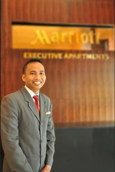 Marriott Executive Apartments Mayflower Setiabudi - Spa Reception