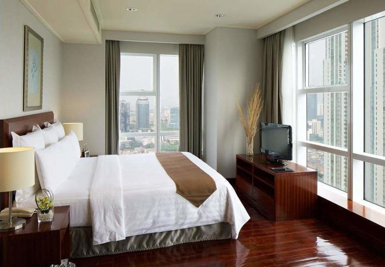 Marriott Executive Apartments Mayflower Setiabudi - Interior Entrance