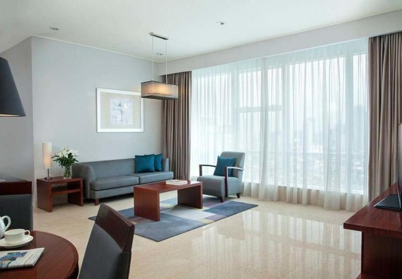 Marriott Executive Apartments Mayflower Setiabudi - In-Room Kitchen