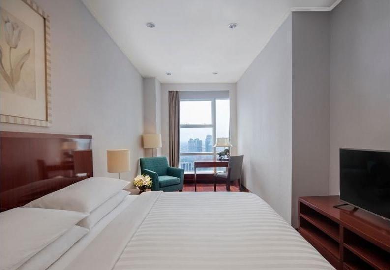 Marriott Executive Apartments Mayflower Setiabudi - Indoor Spa Tub