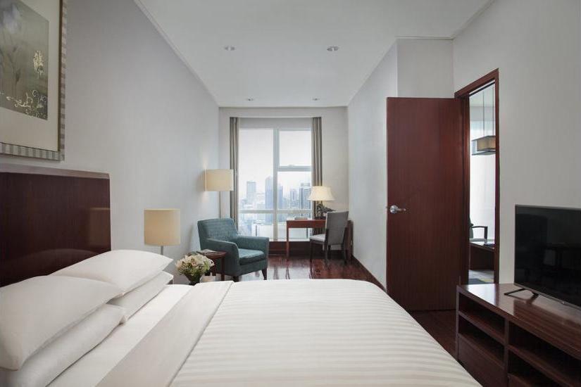 Marriott Executive Apartments Mayflower Setiabudi - Sauna