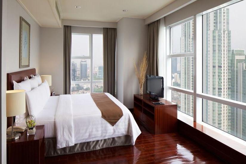 Marriott Executive Apartments Mayflower Setiabudi - Restaurant