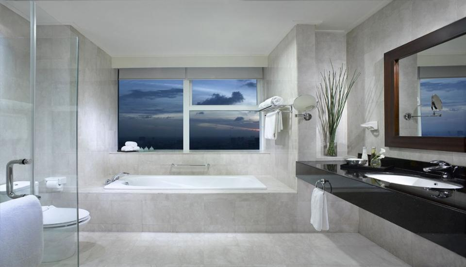 Marriott Executive Apartments Mayflower Setiabudi - Apartemen Deluks, 2 kamar tidur, pemandangan kota Regular Plan