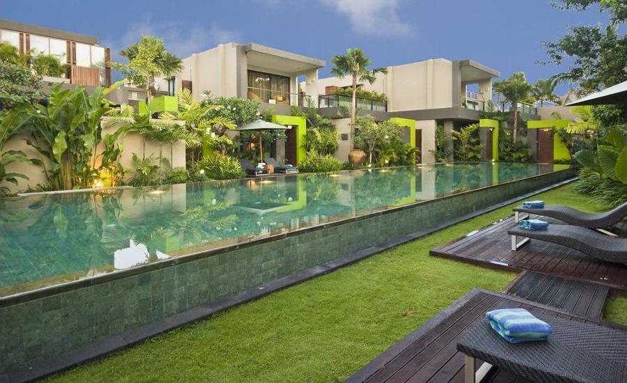 Cicada Luxury Townhouses Bali - Living Area