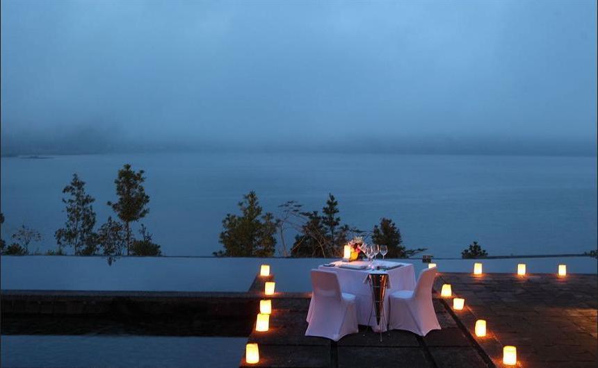 Puri Candikuning Bedugul - Outdoor Dining