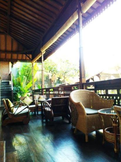 Kampung Cenik Bali - Lobby Sitting Area