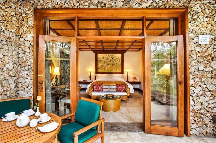 The Oberoi Bali - Kamar Standar, beranda, pemandangan kebun Penawaran spesial: hemat 25%