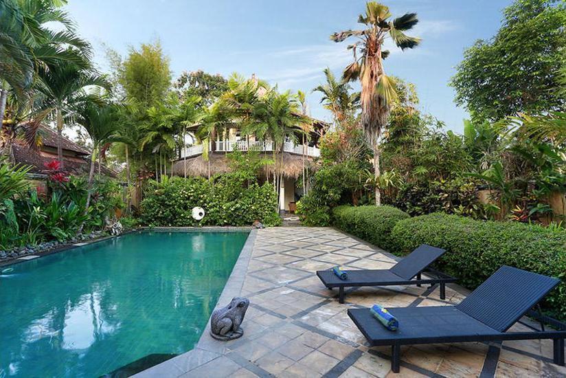 Gajah Biru Bungalows Bali - Outdoor Pool