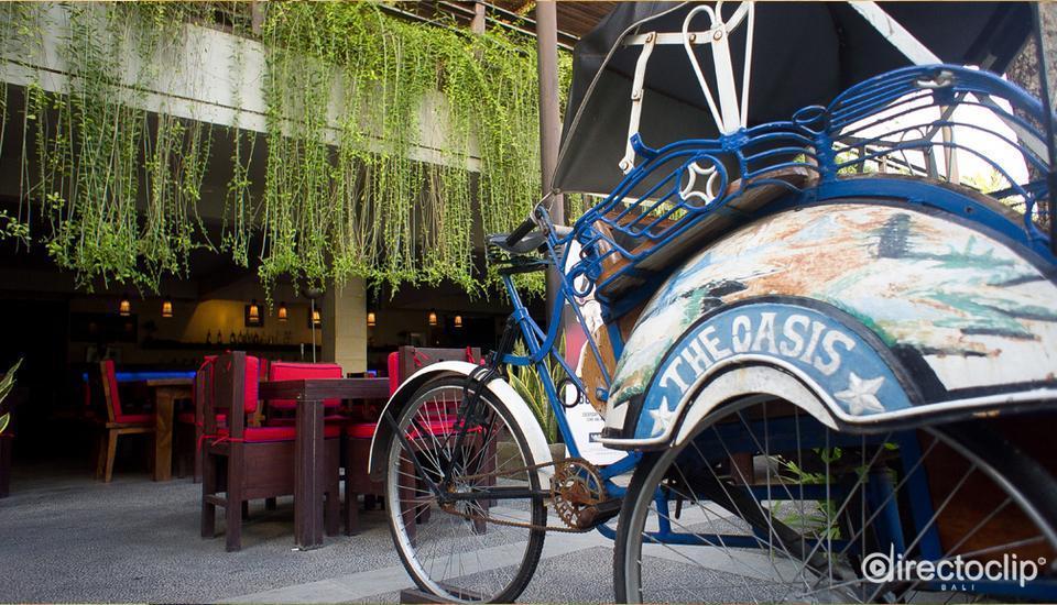 Oasis Kuta Bali - Becak