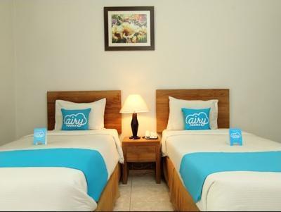 Airy Karang Setra Sindang Sirna Dua 363 Bandung - Deluxe Twin Room Only Regular Plan