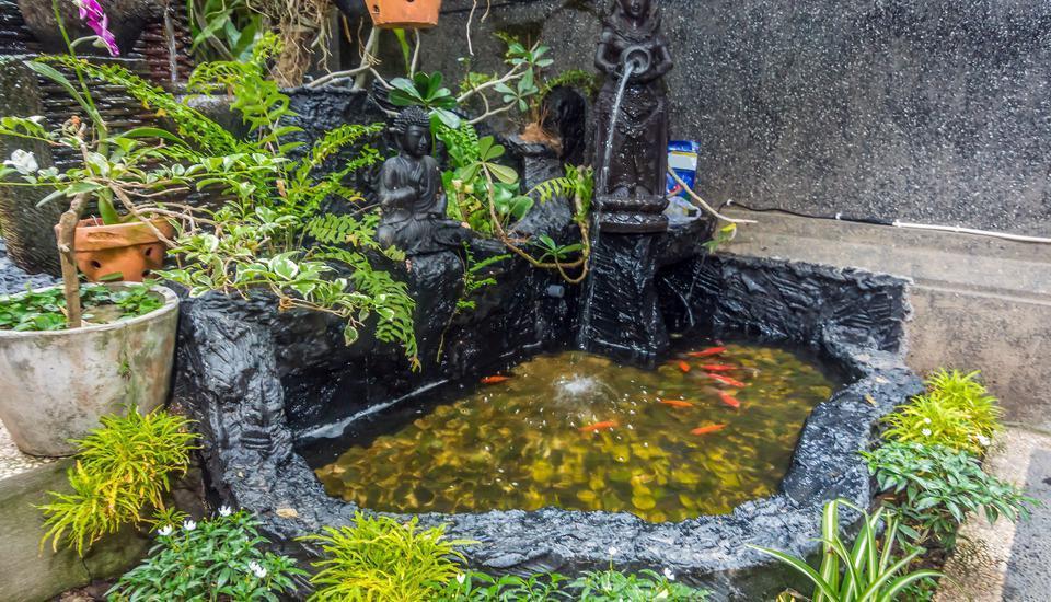 ZenRooms Ubud Sumampan - Kolam ikan