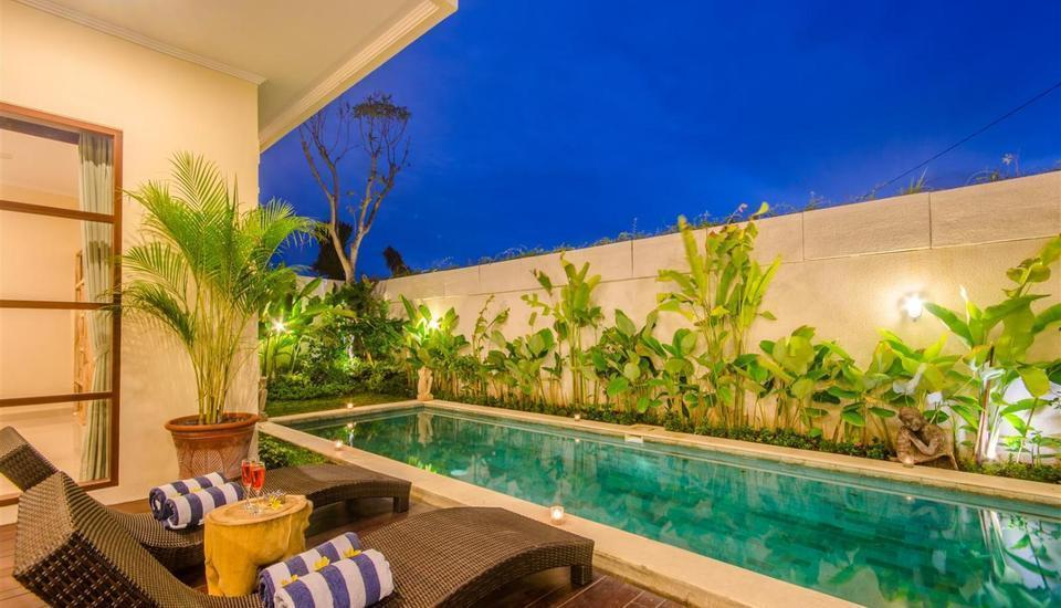 Villa Tepi Sungai Bali - Kolam Renang