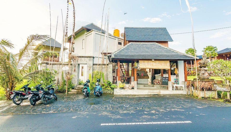 ZenRooms Kedisan Tegal Alang Ubud Villa Bali - Tampak luar