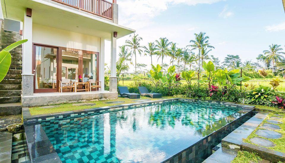 ZenRooms Kedisan Tegal Alang Ubud Villa Bali - Kolam Renang