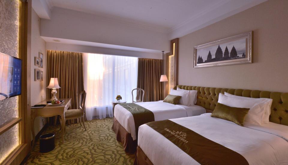 Grand Keisha Yogyakarta by Horison Yogyakarta - Deluxe Twin Room Only Hot Deal