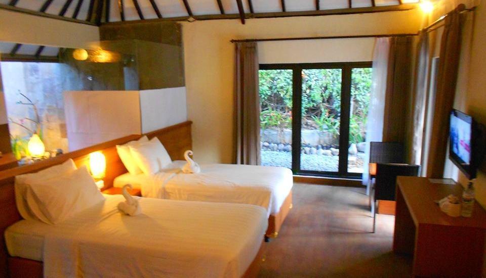 The Batu Villas Malang - Twinbed Cottage Regular Plan