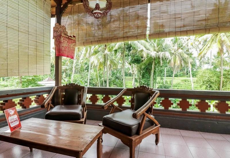 NIDA Rooms Ubud Pengosekan Mas Bali - Ruang tamu
