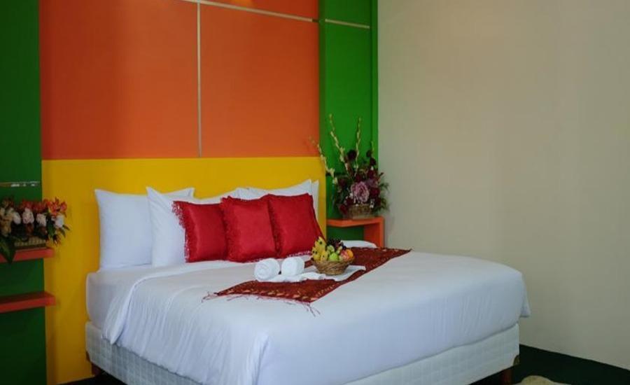 Kampung Wisata Tiga Dara Hotel & Resort Pekanbaru - Kamar tamu