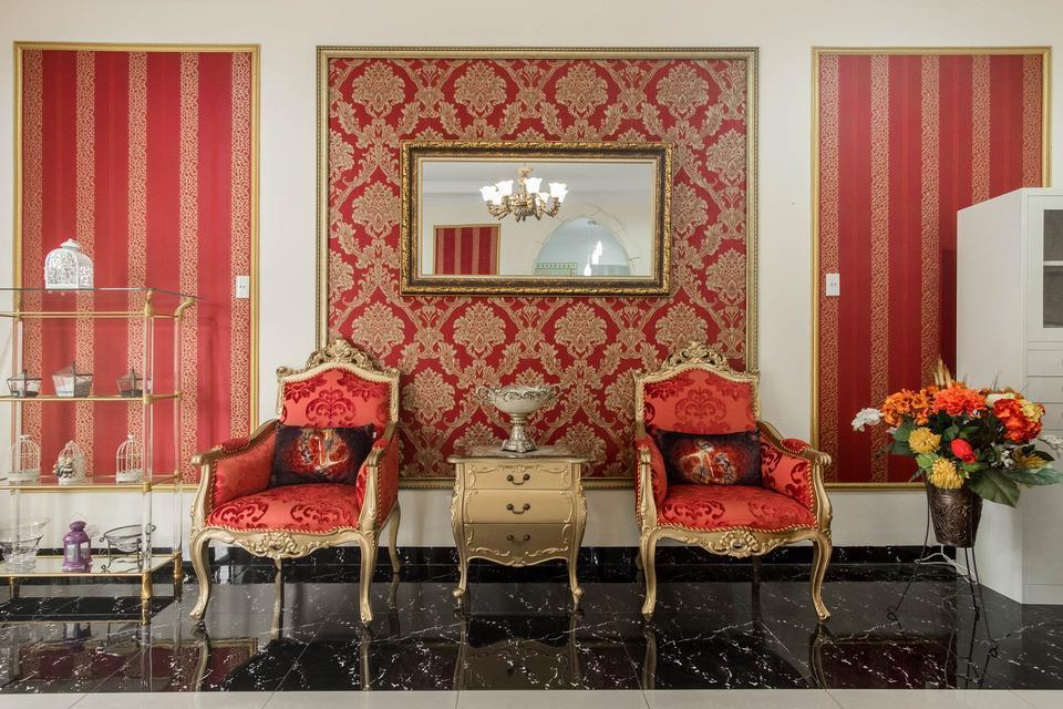 OYO 269 Grand Shaqilla Syariah Medan - Lobby sitting area