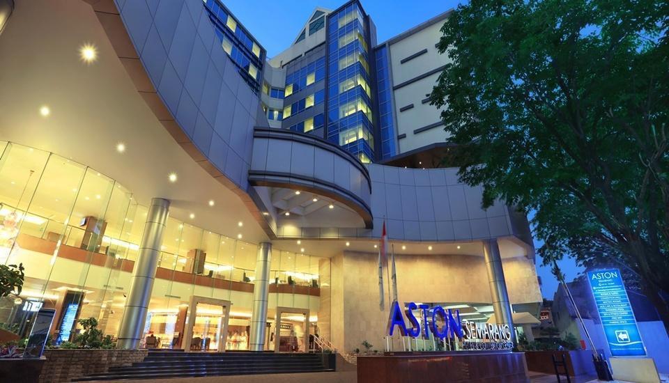 Aston Semarang - Tampilan Luar Hotel