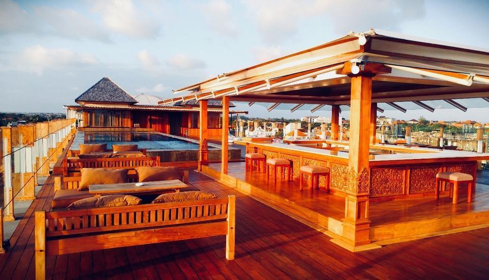 Paditeras Boutique Hotel Seminyak Bali - Rooftop Pool