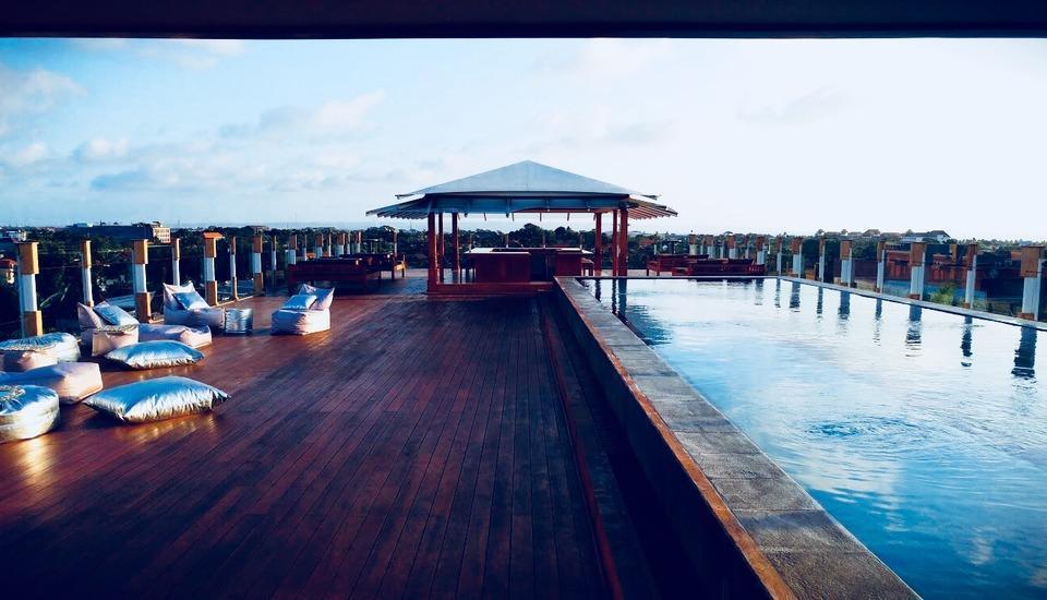 Paditeras Boutique Hotel Seminyak Bali - Rooftop