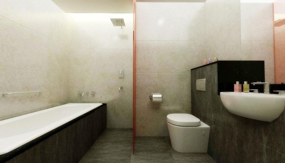Hotel Santika Mega City Bekasi - Bathroom
