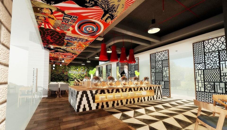 Hotel Santika Mega City Bekasi - Restaurant