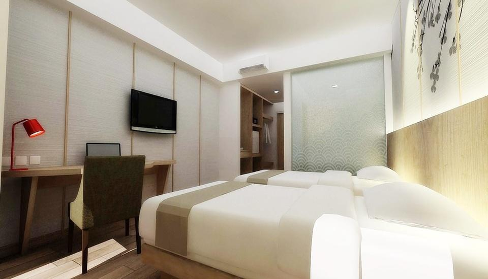 Hotel Santika Mega City Bekasi - Superior Room Twin Regular Plan