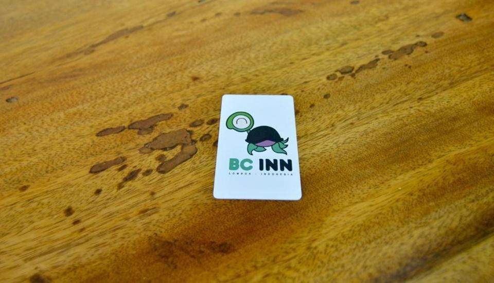 Blue Coral Inn Lombok - Key Card