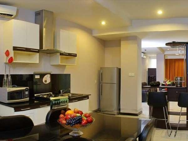 AP Apartment & Suite Bali - Dapur (1)