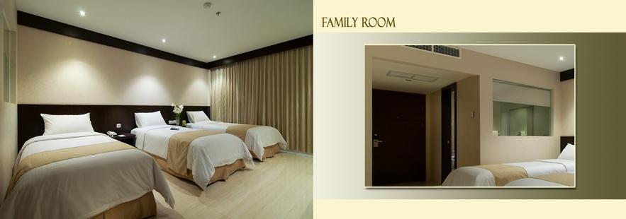 Hotel Aria Gajayana Malang - Kamar Family Regular Plan