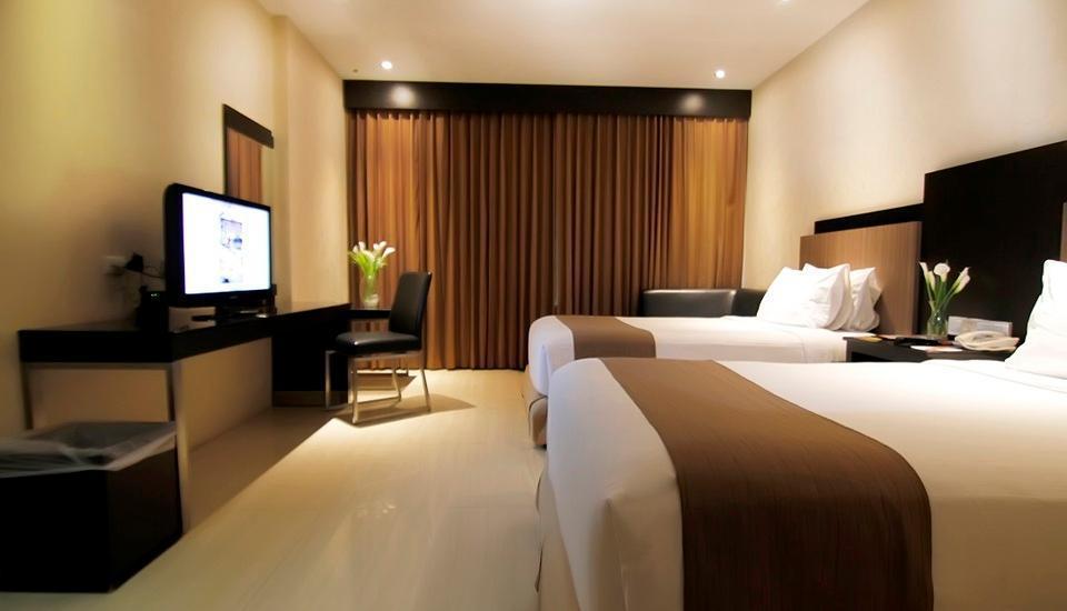 Hotel Aria Gajayana Malang - Deluxe Twin Room Only Regular Plan