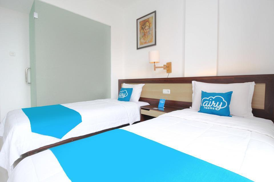 Airy Denpasar Utara Kepundung 62 Bali - Deluxe Twin Room with Breakfast Regular Plan