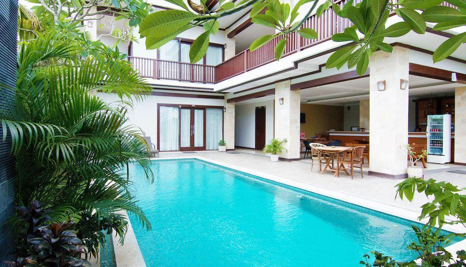 ZEN Premium Canggu Batu Villa Bali - Kolam Renang