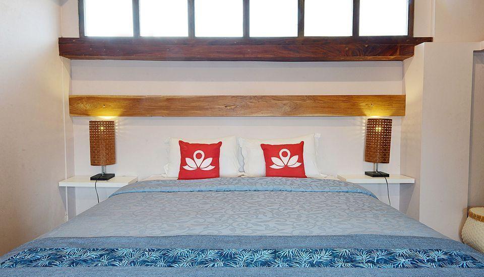 ZEN Premium Tegal Panggung Danurejan Yogyakarta - Tampak tempat tidur double