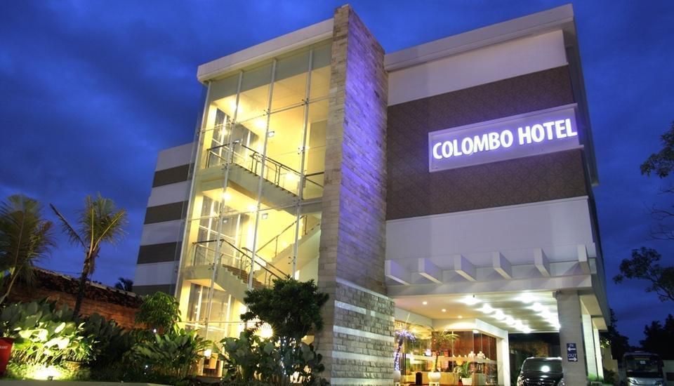 Quin Colombo Hotel Yogyakarta - Tampak Depan