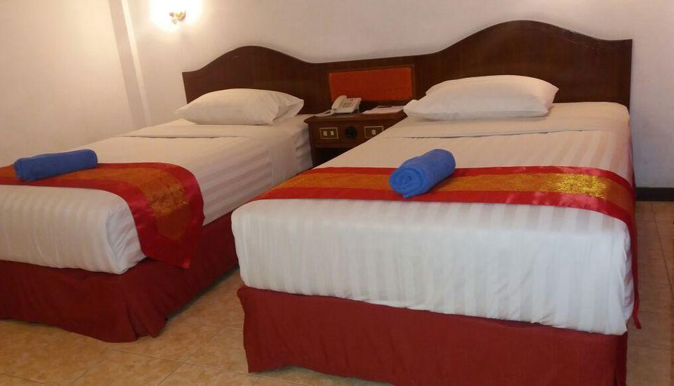 Parapat View Hotel Parapat - Superior Pemandangan Taman pemandangan