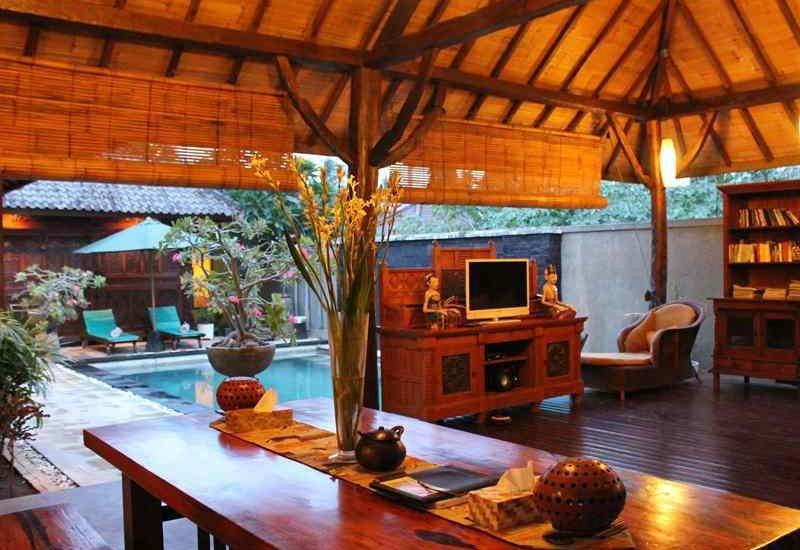 Gili Exotic Villa   - Dining Room