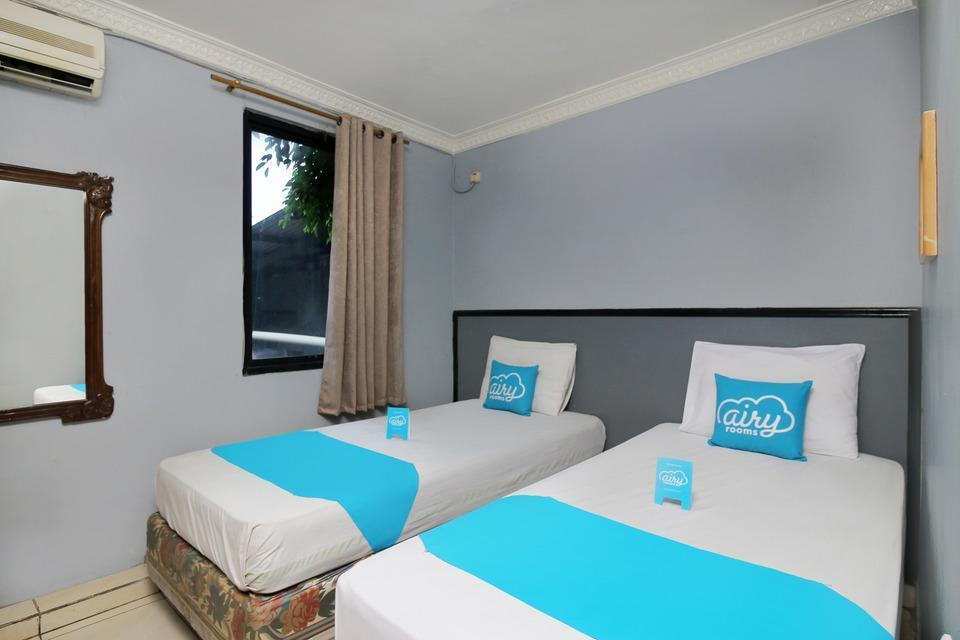 Airy Eco Sudirman 34 Bogor - Superior Twin Room with Breakfast Regular Plan
