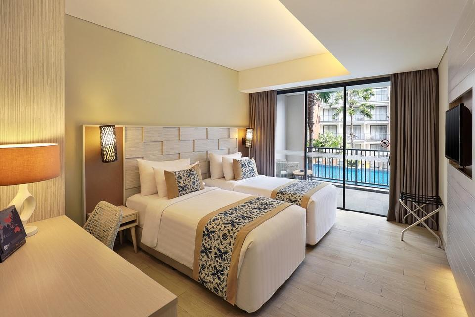 Swiss-Belhotel Tuban - Deluxe Pool View Twin Monthly Promotion