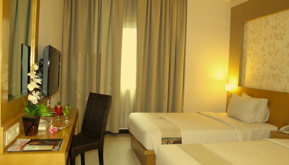 Drego Hotel Pekanbaru - DELUXE TWIN