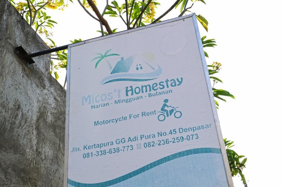 Micost Homestay Bali - Logo