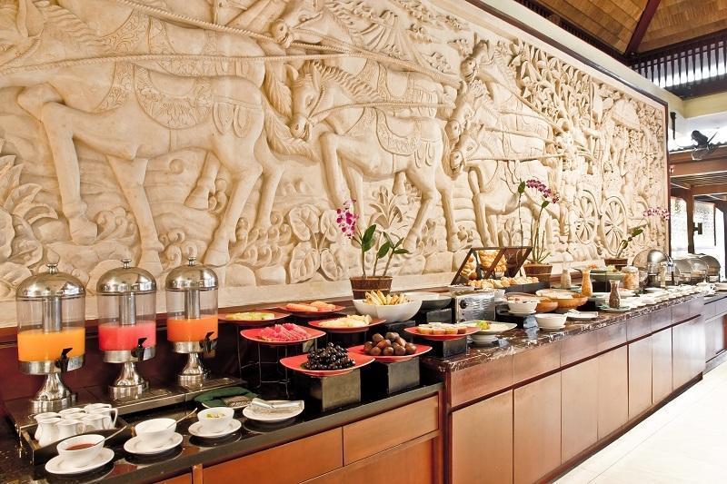 The Rani Hotel & Spa Bali - Makan pagi prasmanan