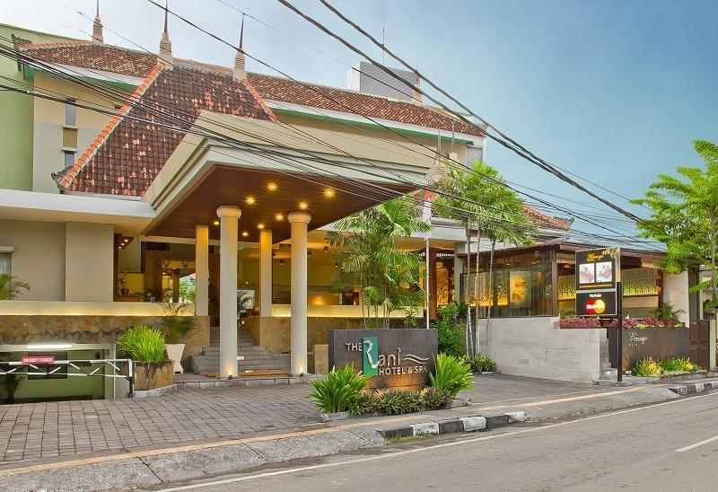The Rani Hotel & Spa Bali - Tampak depan hotel