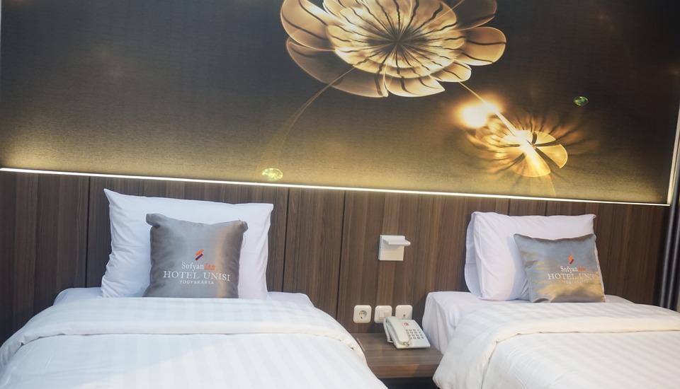 Sofyan Inn Hotel Unisi Yogyakarta - Kamar Deluxe Tempat Tidur Twin
